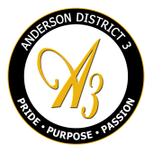 Anderson District 3 Logo