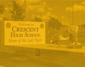 Crescent High School Sign